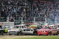 Demolition Derby! Prestige Pools Waikaraka Speedway
