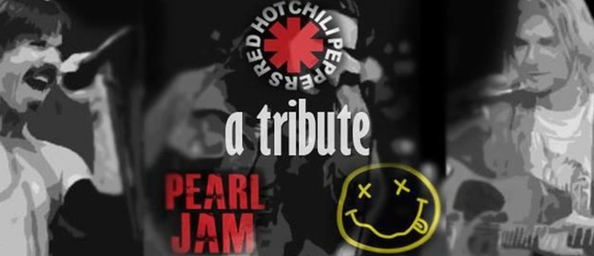 New Plymouth - Nirvana, Red Hot Chili Peppers Pearl Jam trib