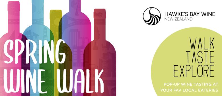 Hawke's Bay Spring Wine Walk: Havelock North