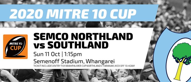 Mitre 10 Cup - Northland vs Southland