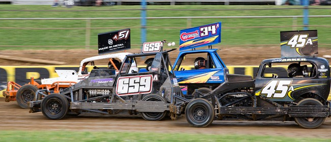 Stockcar King of the Park - Waikaraka Speedway!