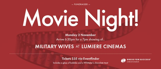Movie Night Fundraiser: Military Wives