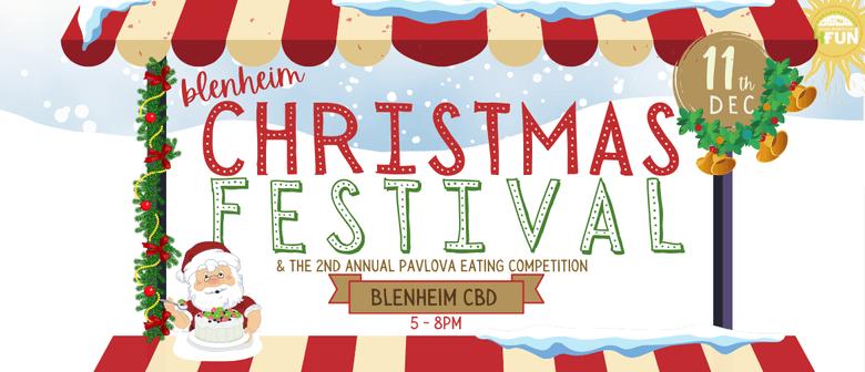 Blenheim Christmas Festival & Pavlova Eating Competition