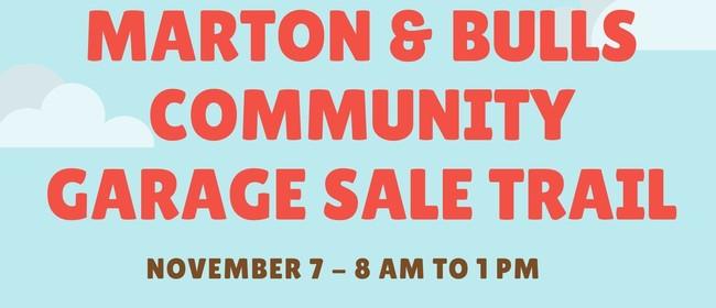 Marton & Bulls Community Garage Sale Trail
