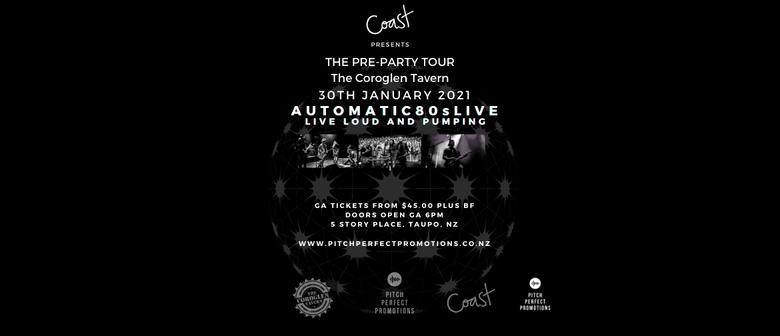 Coast Events - The Pre Party The Coroglen Tavern 2021