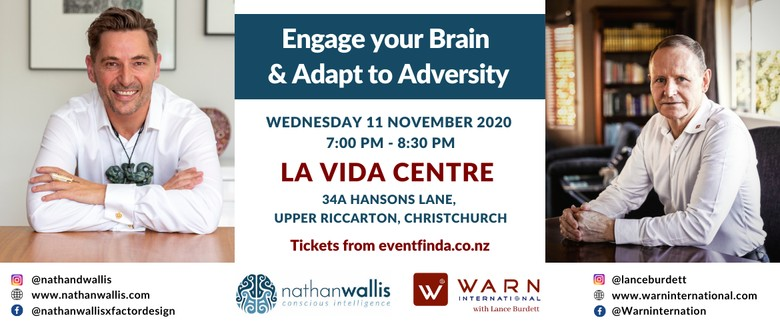Engage Your Brain and Adapt to Adversity