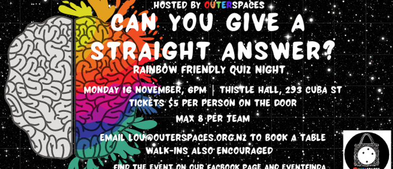 Can You Give a Straight Answer?| Rainbow Friendly Quiz Night