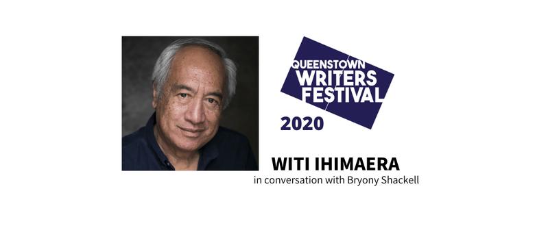 Witi Ihimaera in conversation with Bryony Shackell