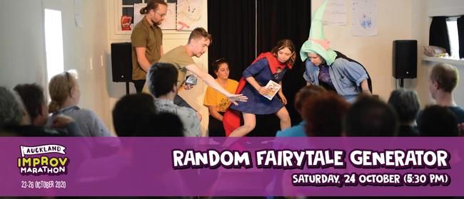Auckland Improv Marathon: Random Fairytale Generator