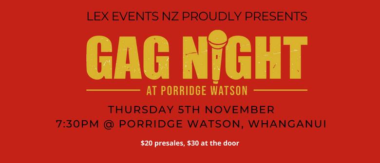 Gag Night at Porridge Watson