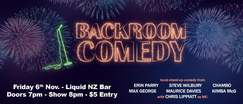 Backroom Comedy November 2020