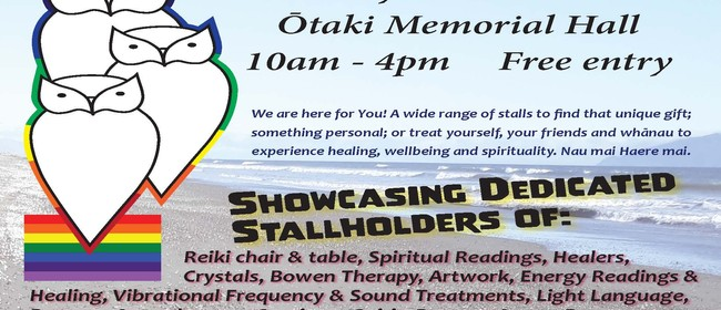 Ōtaki Healing & Wellbeing Expo With A Sprinkle Of Spirituali