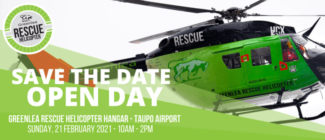 Greenlea Rescue Helicopter - Open Day 2021: CANCELLED