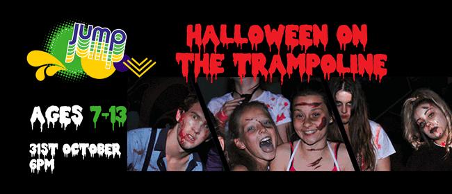 Halloween on the Trampoline!