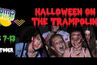 Halloween on the Trampoline
