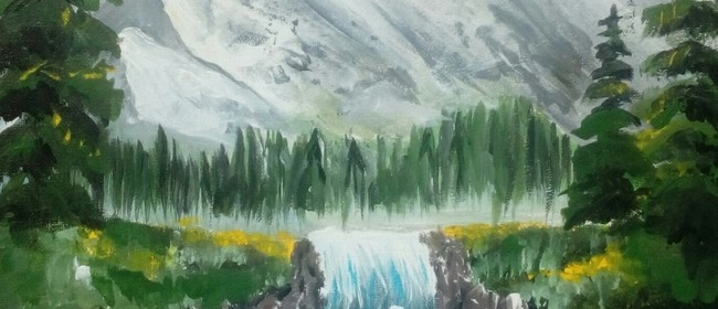 Paint & Wine Night - B Ross Snowy Mountains: CANCELLED