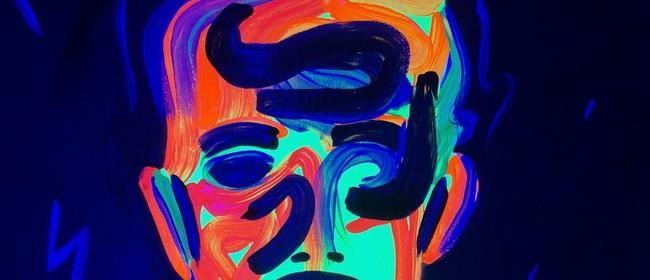 Glow in the Dark Paint Night - Bowie