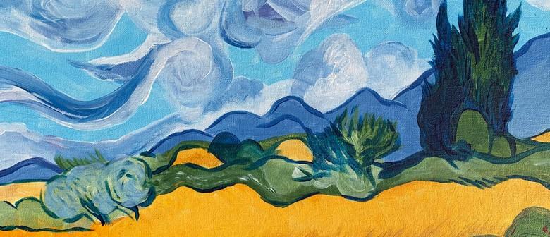 Paint & Wine Night - Wheat Field