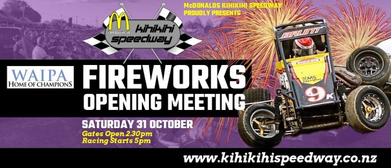 Fireworks Opening Meeting
