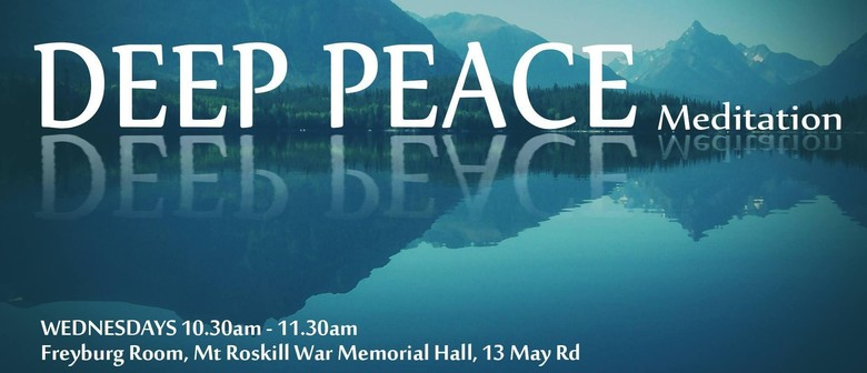 Deep Peace Meditation Returning Live in Person