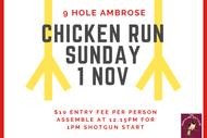 """""""Chicken Run"""" Northland Golf Club"""