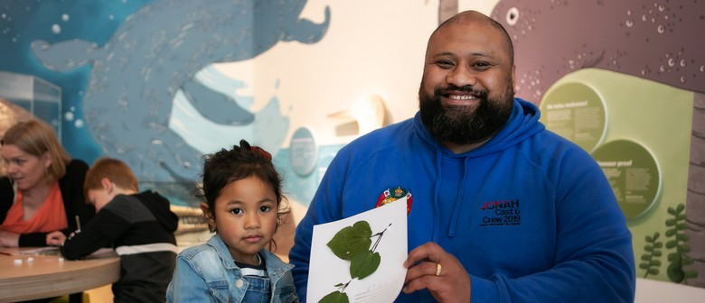 Te Papa Whānau Day with Department of Conservation