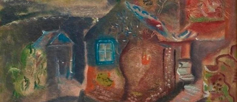 Frances Hodgkins's War Art – Houses and Outhouses, Purbeck