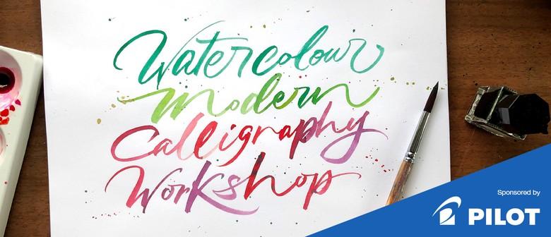 Watercolour Modern Calligraphy Workshop