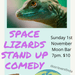 Space Lizards Monthly Stand Up Comedy @Moon.