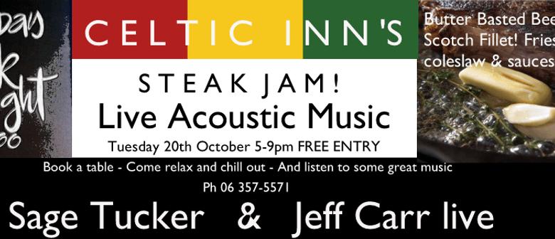Steak Night Jam ft Sage Tucker & Jeff Carr