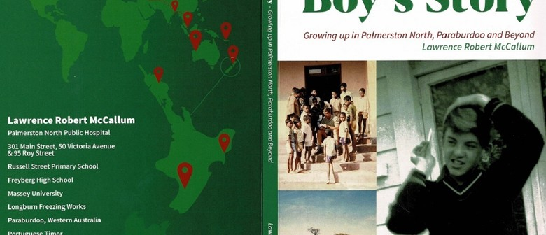 Book launch: A Palmy Boy's Story