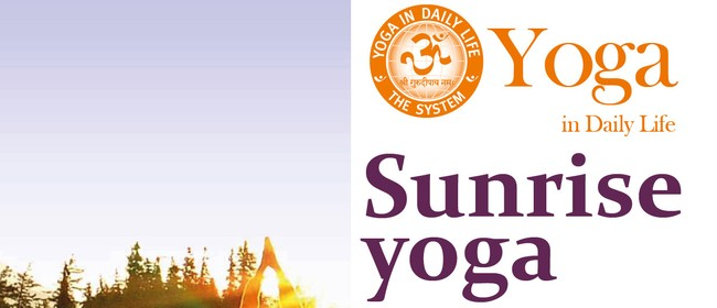 Sunrise Yoga on Saturdays