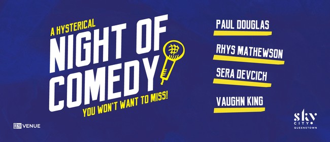 A Hysterical Night of Comedy: CANCELLED