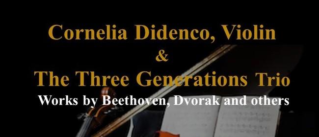 Cornelia Didenco, Violin & The Three Generations Trio