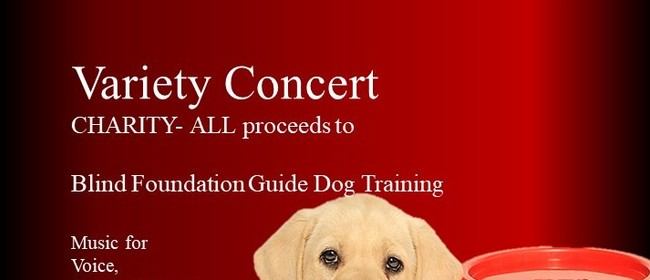 Variety Concert Charity- All proceeds to Blind Foundation