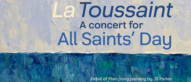 La Toussaint - A concert for All Saints Day: Chroma Chamber