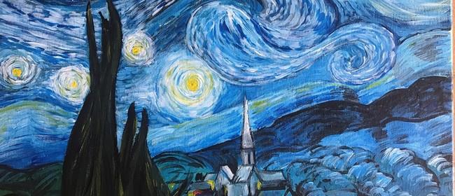 Paint & Chill Saturday Night - Van Gogh Starry Night