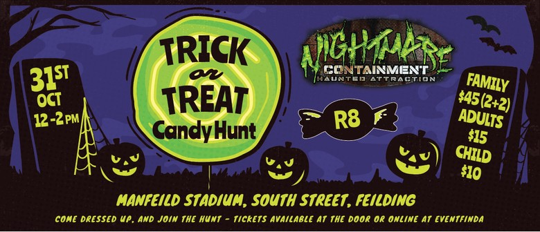 Trick or Treat Candy Hunt