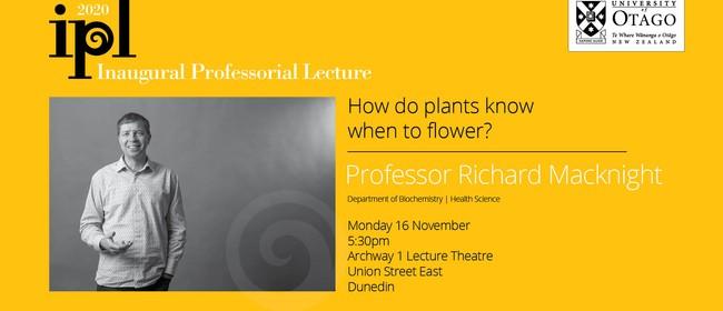 Inaugural Professorial Lecture - Professor Richard Macknight