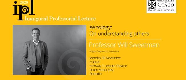 Inaugural Professorial Lecture - Professor Will Sweetman