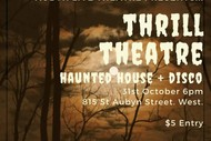 Halloween Party with Haunted House
