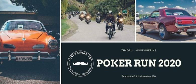 Movember Poker Run Timoru