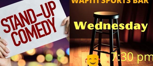 Wapiti Wednesday Comedy Night: CANCELLED
