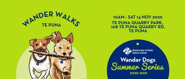 Te Puna Quarry Park - Wander Dogs walk