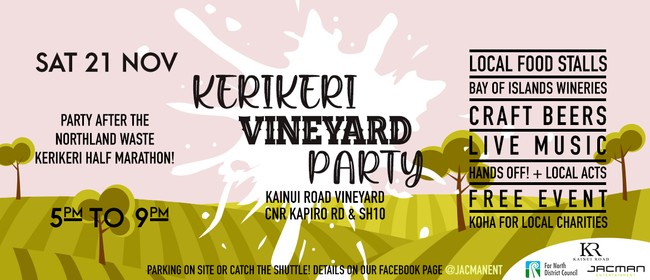 Kerikeri Vineyard Party