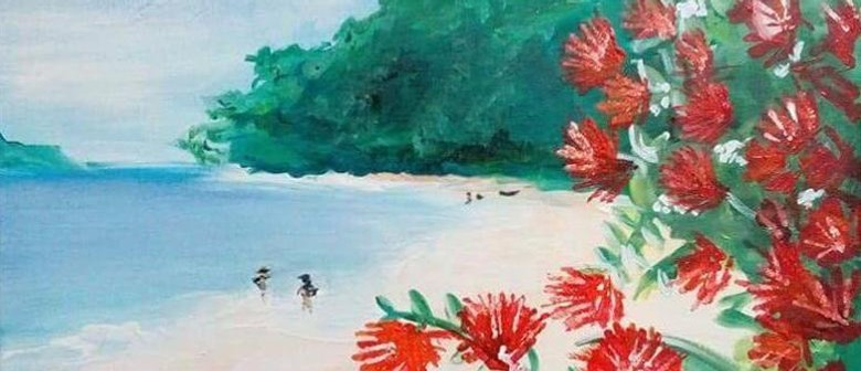 Paint and Wine Night - Summer in NZ