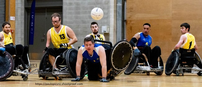 NZ Wheelchair Rugby Reconnect Event