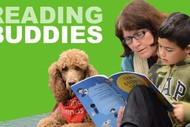 Reading Buddies - Reading to Therapy Dogs for Kids and Youth