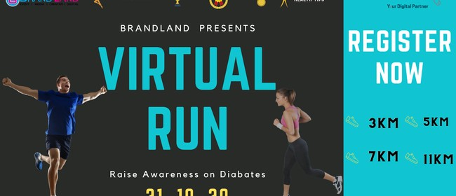 Virtual Run - Walk to Smack Diabetes 2020