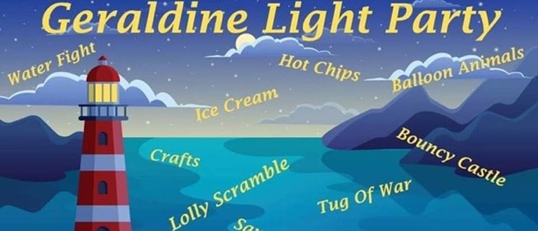 GERALDINE LIGHT PARTY - FAMILY FRIENDLY HALLOWEEN